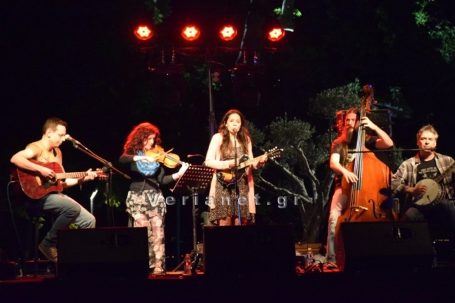 Βέροια Εύηχη πόλη Grey River and The Smoky Moyntain! Americana, Folk & Blue Grass (βίντεο) 24/6/2018